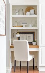 kitchen desk design diy floating desk with storage tutorial a burst of beautiful