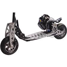 50cc uberscoot rx gas powered scooter by evo powerboards 2 stroke