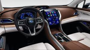 subaru hybrid interior 2018 subaru full size suv ascent luxurious interior youtube