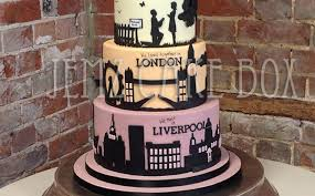 wedding cake liverpool silhouette london liverpool skyline wedding cake from 650 jemz