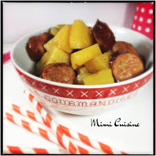cuisiner des saucisses fum馥s saucisses fumées et ses pommes de terre sauce carré frais et