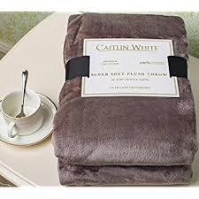 White Throws For Sofas Amazon Com Flannel Fleece Luxury Blanket Blue Navy Throw