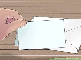 How To Make A Card Envelope - 3 ways to make a mother u0027s day card wikihow