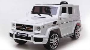 mercedes jeep white kids 12v licensed mercedes gl ride on jeep youtube