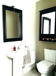 Bathroom Shelf With Mirror Bathroom Mirrors With Storage Akapello