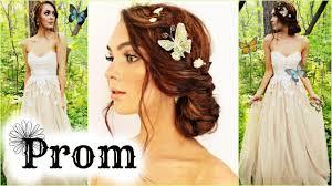 a midsummer night u0027s dream makeup u0026 hair for prom grwm 2016 youtube
