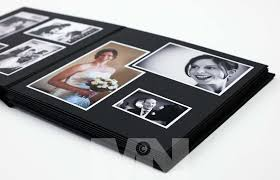 photo album black pages jorgensen traditional wedding albums martin neeves wedding