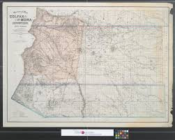 Map Of New Mexico Counties by Sectional Map Of Colfax And Mora Counties New Mexico Compiled