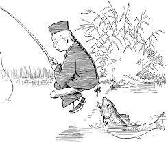 fishing with lun chun foo 1 clipart etc
