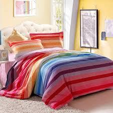 Rainbow Comforter Set Rainbow Bedding For Girls And Photos Madlonsbigbear Com