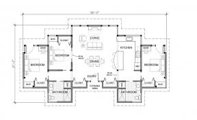 3 bedroom house plans one story remarkable 3 bedroom single story modern house plans one story three