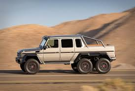 six wheel mercedes suv upgrade your offroad adventures with the mercedes g63 am6 6 6