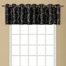 Curtains Co Amazon Com United Curtain Sinclair Embroidered Grommet Valance