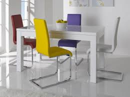 High Gloss Extending Dining Table White Gloss Dining Table Home Design Ideas And Pictures