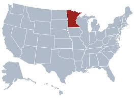 minnesota on map minnesota state information symbols capital constitution