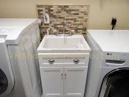 Laundry Utility Sink With Cabinet by How To Install Laundry Room Cabinets Creeksideyarns Com