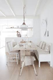 Best  Dining Table Bench Seat Ideas On Pinterest Dining Table - White kitchen table with bench