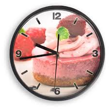 pendule murale cuisine horloge pendule murale cuisine gâteau achat vente horloge