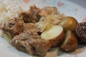 slow cooker pork roast and sauerkraut dinner youtube