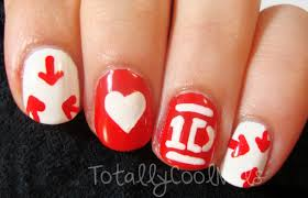 tutorial nail art one direction best one direction logo nail art picture for style and s concept one