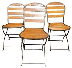 Folding Bistro Chairs Stylish Reproduction Bistro Cafe Folding Side Chairs Walnut