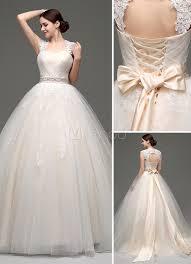 robe de mariã e princesse robe mariée princesse tulle chagne longueur plancher milanoo