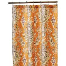 home decorators collection bath accessories bath the home depot shower curtain in cognac