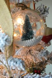 snow globe ornaments mine for the