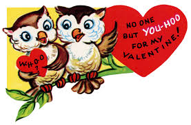printable owl valentine clipart
