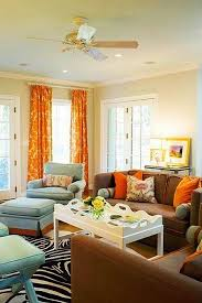 orange livingroom brown and orange living room curtains 1025theparty com