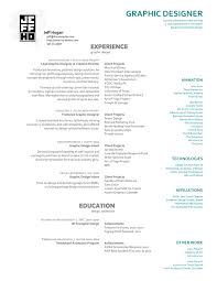 Resume Examples Graphic Designer by Resume Samples U0026 Examples Brightside Resumes