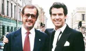roger moore james bond pierce brosnan pays tribute to magnificent roger
