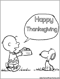 snoopy thanksgiving coloring pages u2013 happy thanksgiving