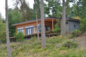 prefab cabins for your gulf island getaway trends and modern