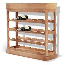 seconique corona pine wine rack amazon co uk kitchen u0026 home