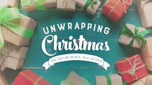 unwrapping christmas sermon series christmas decore