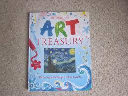 art book for kids the usborne art treasury miss chipie
