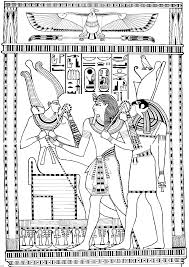 egyptian colouring pages kids coloring europe travel guides com