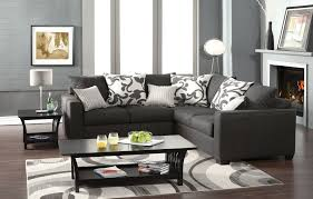 small grey sectional sofa gray sectional sofas incredible sofa and pillow the kienandsweet