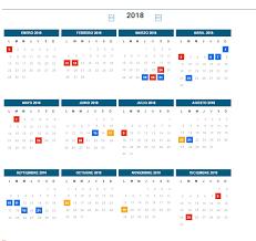 Calendario 2018 Argentina Ministerio Interior Mirá El Cronograma De Feriados 2018 Aire De Santa Fe