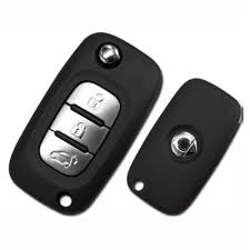 flip key remote fob for smart cwtwb1g767 433mhz 3 buttons
