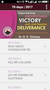 mfm 2017 seventy days prayer fasting android apps on play