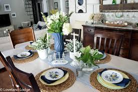 vintage china spring tablescape loveland lodge