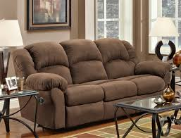 Best Sofa Recliner by Living Room Comfortable Brown Microfiber Couch For Elegant Living