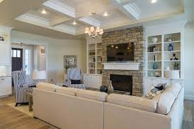 Yellow Fireplace Yellow Living Room Stone Fireplace Zillow Digs Zillow