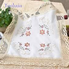 napperon de cuisine chaude coton place table tapis tissu tapis de dentelle crochet tasse