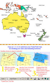 australia map of cities australia and oceania regional powerpoint map cities maps for