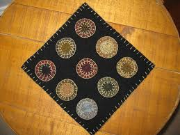Wool Felt Rugs 105 Best Penny Rugs Images On Pinterest Penny Rugs Wool