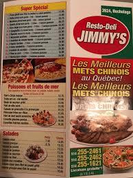 livraison cuisine jimmy s restaurant home montreal menu prices