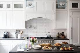 white subway tile kitchen backsplash kitchen design cool cool beautiful black and white kitchen